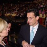 Eric Cantor with his wife and daughter at the 2009 Republican Convention